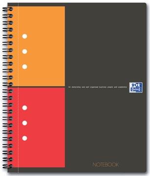 Oxford INTERNATIONAL Notebook Connect, met scanbare pagina's, 160 bladzijden, ft A5+, geruit 5 mm