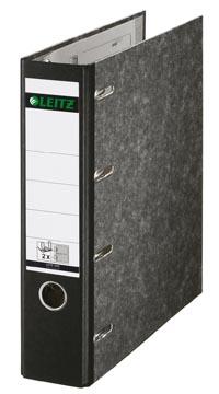 Leitz giro-bank ordner, ft A4, rug 75mm, karton, zwart