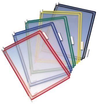 Tarifold tas t-display geassorteerde kleuren