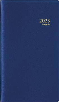 Brepols agenda Interplan Genova, blauw, 2022
