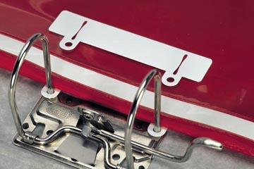 Durable snelhechter wit, zak van 50 stuks