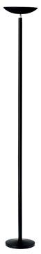 Unilux vloerlamp Dely, LED-lamp, zwart