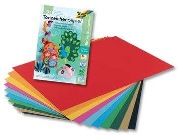 Folia gekleurd tekenpapier