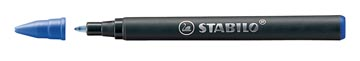 STABILO EASYoriginal rollervulling, medium, 0,5mm, doosje van 3 stuks, blauw