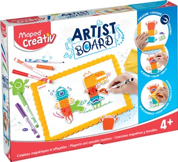 Maped Artist Board magnetisch witbord monsters