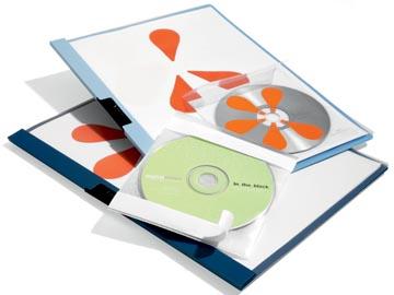 Durable CD-hoes CD Fix, 10 stuks
