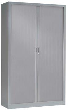Roldeurkast, hoogte 198 cm, aluminium